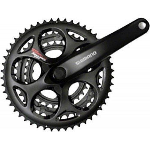 Shimano Tourney A073 170mm 30x39x50t 7 8 Speed Triple Crankset Black