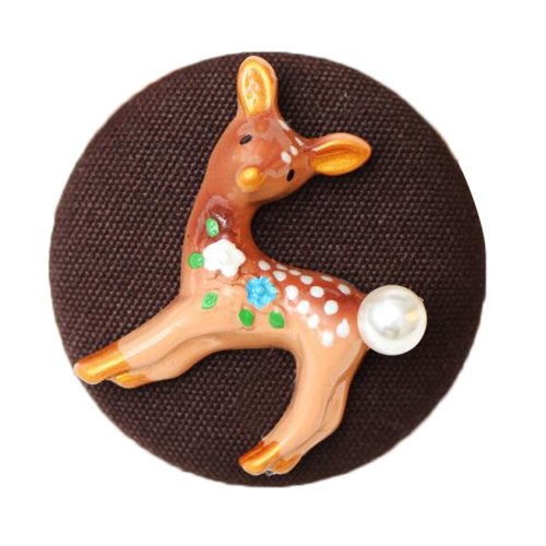 Cute Deer Style Fashion Brooch Pins Jewelry Badge