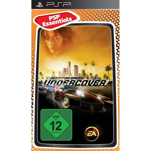 Need for Speed Undercover Essentials Edition PSP Game