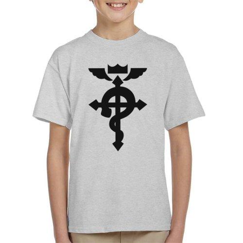 Fullmetal Alchemist Logo Chibi Kid's T-Shirt