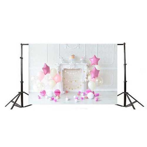7x5Ft 3D Birthday Theme Thin Vinyl Photography Backdrop Background Studio Photo Prop