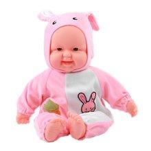 Lifelike Realistic Baby Doll/ Zodiac Doll/ Soft Body Play Doll, Rabbit Baby Doll
