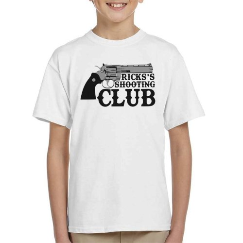 Ricks Shooting Club Walking Dead Kid's T-Shirt