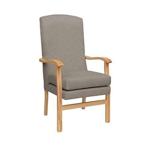 MAWCARE Deepdale Ortopaedic High Seat Chair - 21 x 20 Inches [Height x Width] in Highland Mushroom (lc48-Deepdale_h)