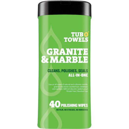 "Tub O' Towels 7""X8"" 40/Pkg-Granite & Marble"
