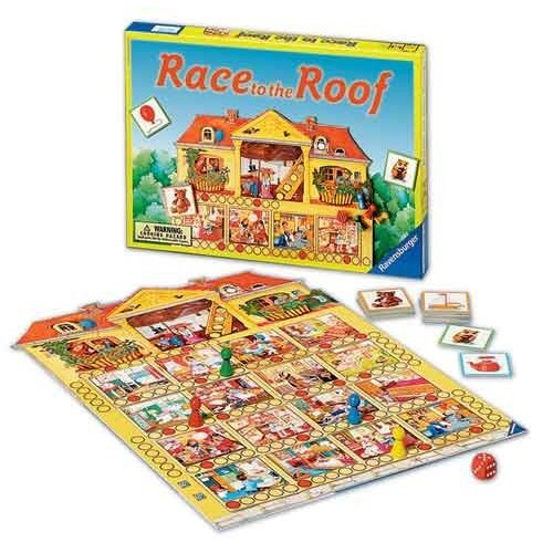 Ravensburger Race to the Roof Game
