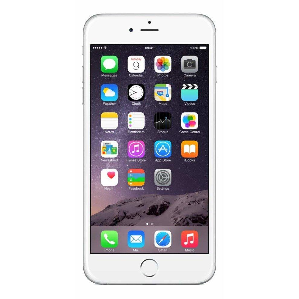 O2, 64GB Apple iPhone 6 Plus Silver