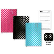 2018 Small Week to View Pocket Diary Fashion Polka Dot Hardback WTV W2V Christmas Gift