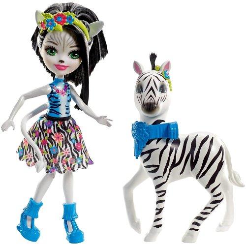 Enchantimals Zelena Zebra Doll, Large