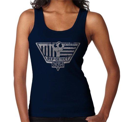 Blade Runner Inspired Rep Detect Logo Women's Vest