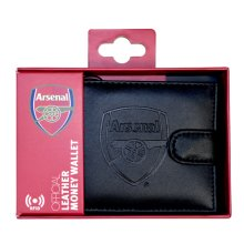 Arsenal Rfid Embossed Leather Wallet