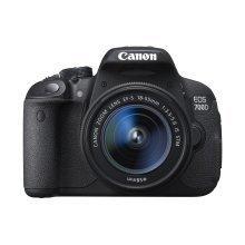 Canon EOS 700D + EF-S 18-55mm 18MP CMOS 5184 x 3456pixels Black