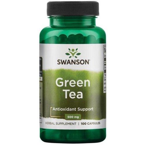 Swanson  Green Tea, 500mg  - 100 caps