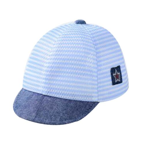 Blue Cotton Sunhat Foldable Beach Hat Great Gift Baby Hat Summer Hat Lovely Cap