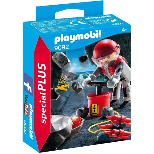 Playmobil Special Plus Rock Blaster with Rubble
