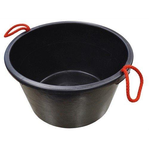 Faithfull FAI40LBUCKET Builders Bucket Black 40 Litre (9 Gall)