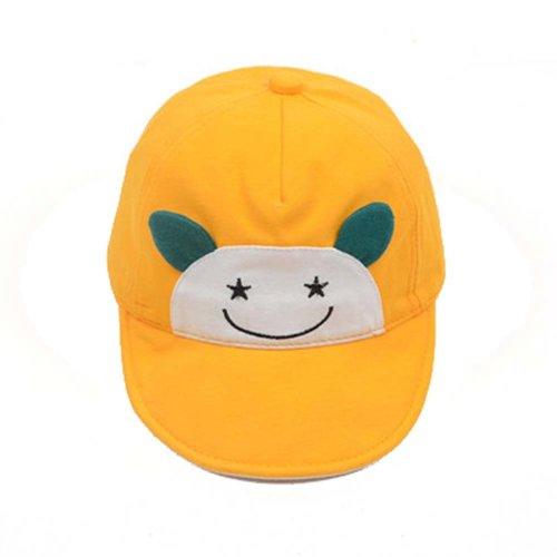 Visor Cap Baby Hat Sunscreen Breathable Baby Cuff Cotton Baseball Cap