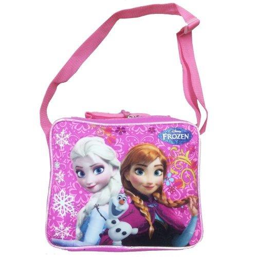 Lunch Bag - Disney - Frozen Princess Elsa+Anna Pink Kit Case New (fccor22om)