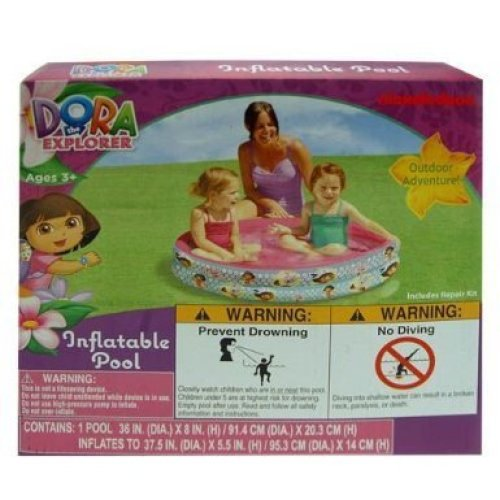 Inflatable Pool - Dora The Explorer (36 x 8) (Swimming Toys)