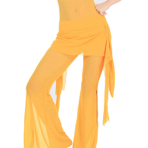 Yellow Belly Dance Tribal Pants Belly dance costume
