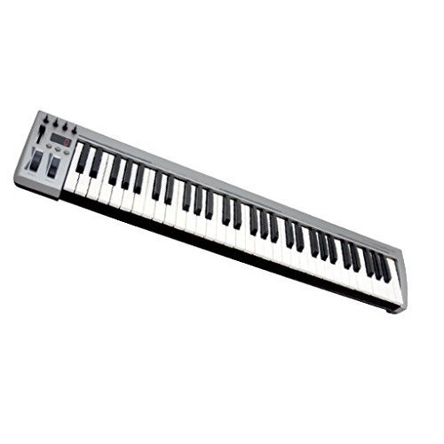 MasterKey 61 MIDI Keyboard - Silver