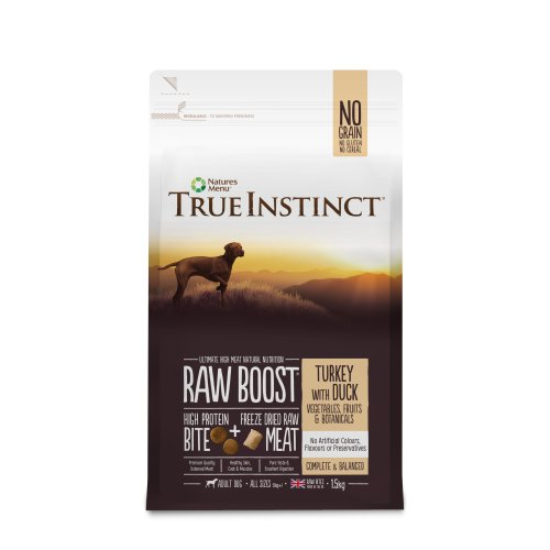 True Instinct Raw Boost Adult Dog Turkey with Duck