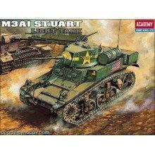 Aca13269 - Academy 1:35 - Us M3a1 Stuart Light Tank