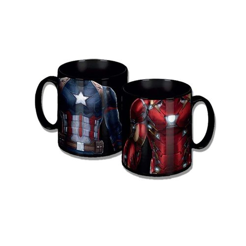 Marvel Captain America Civil War Torso Coffee Mug Official Gift