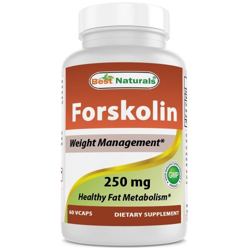 Best Naturals Forskolin 50 60 Capsules 250mg Weight Loss Supplement