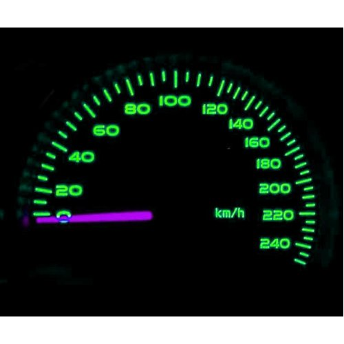 LED Dash Speedo Kit Lighting Set Spare Part Replace Fits Renault 5 R5 Gt Turbo