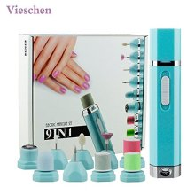 9 In 1 Electric Manicure and Pedicure Kit Nail File System Lady Shaver