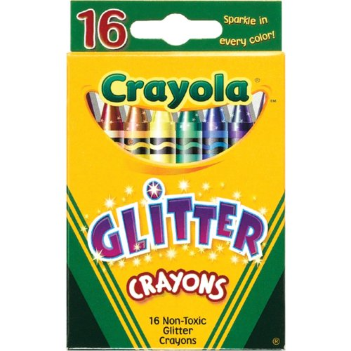 Crayola Glitter Crayons-16/Pkg