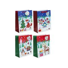 Small 4asstd Contemporary Design Childrens Gift Bags -