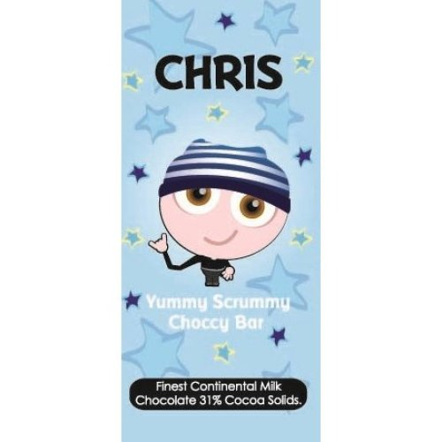 Chris Chocolate Bar