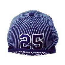 Fashion Baby Woolen Cap Kids Winter Baseball Cap 25 Navy