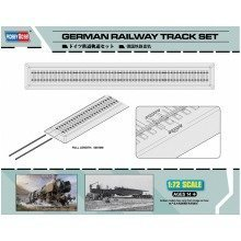 Hbb82902 - Hobbyboss 1:72 - German Railway Track Set