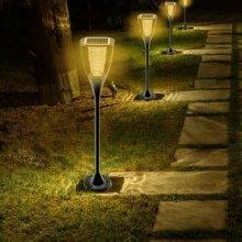 Solar Walkway Light 8 LEDs 100 LM Internal Battery VILLA