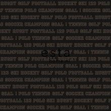 wallpaper all sports dark brown - 115626