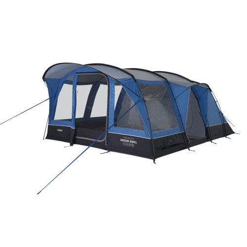 Vango Hudson 600XL 6 Person Family Exceed Poled Tent Sky Blue