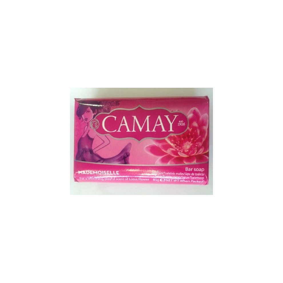Camay Mademoiselle Bar Soap 12x85g Lotus Flower Scent On Onbuy