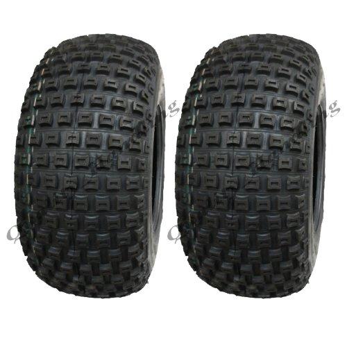 18x9.50-8 Knobby ATV tyres, ATV Quad trailer tyre, P322 - set of 2