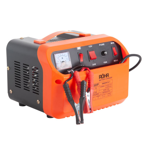 Röhr Battery Charger 45 Amp 12V / 24V DFC-50P Intelligent Turbo / Trickle with Battery Repair, Maintain and Jump Start Technology