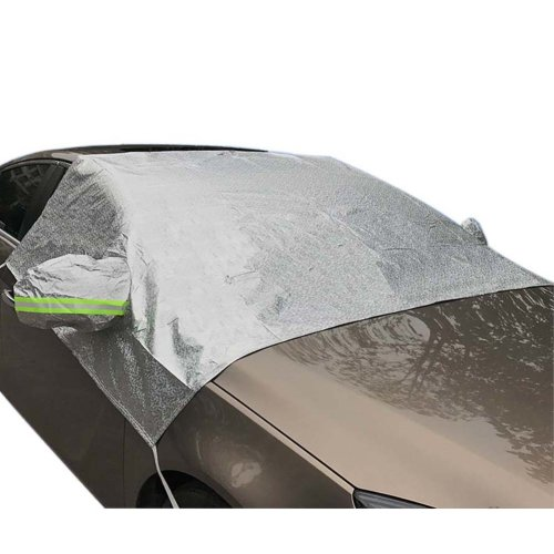 Auto Windshield Snow Cover All Seasons Visor Protector For SUVs Car Windshield Cover In Winter #2