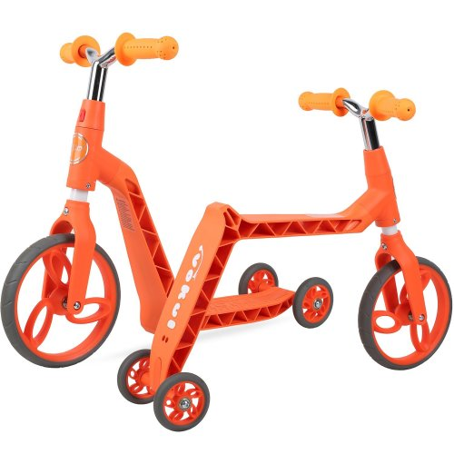 Vokul Gh05 3 Wheel Mini Kick Scooter for Age 2-5, Height 95-120cm (Orange)