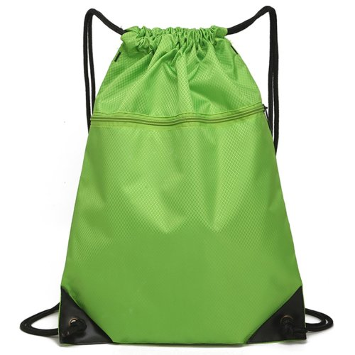 Drawstring Bag Unisex Gym Bag Sport Rucksack Shoulder Bag Hiking Backpack #5