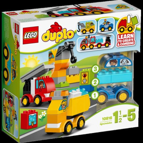10816 My First Cars And Trucks