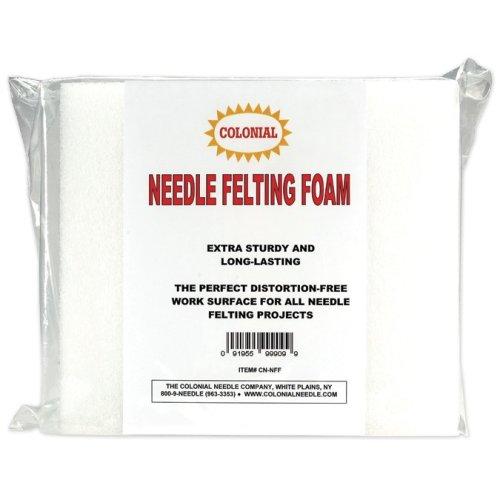 "Colonial Needle Felting Foam-9""X8""X2"""
