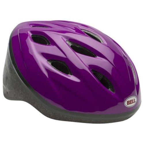 Bell Sports Inc 7063275 Girls Star Bike Helmet, Purple