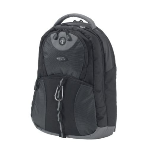 "Dicota (N13409P-V1) 14 - 15.6"" Backpack STYLE, Water Resistant, Black & Grey, Lifetime Warranty"