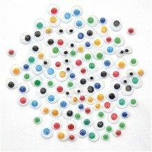 Pbx2470650 - Playbox - Eyes (coloured) - Ï 5 & 7 Mm - 600 Pcs